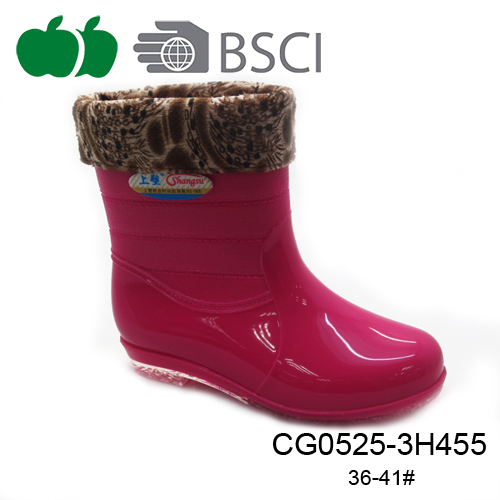 new design pvc rain boot