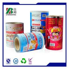 Großhandel kundengebundene Plastikfolie Verpackungsrolle