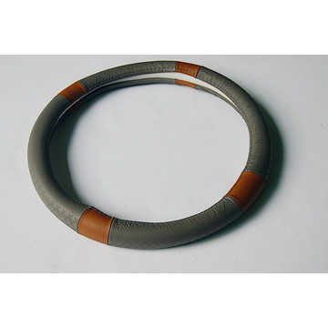 OEM for Steering Wheel Wrap Automobile genuine leather Steering Wheel Cover export to Guadeloupe Supplier