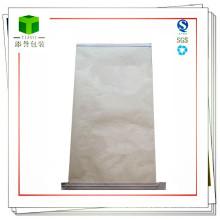 Multiwall Sewn Bottom White Kraft Paper Bag for Resin