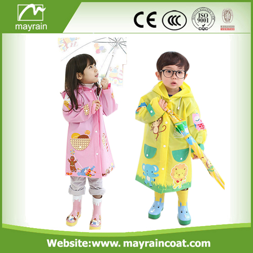 PU Kids Raincoats