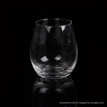 Verre à whisky en verre soufflé à la machine