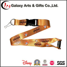 Polyester Material Personalised Logo Lanyards Custom