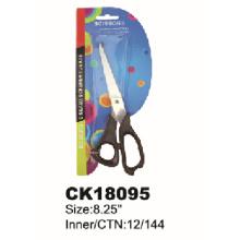 New Design Scissors with Black Plastic Handle
