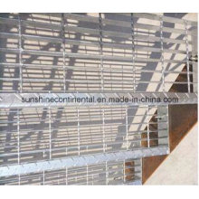 Hot DIP Galvanised Steel Grate Stairs