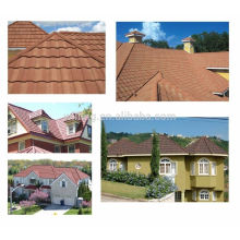 Color Stone Coated Corrugated Roof Panels