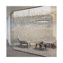 China manufacturer digital printing glass customized high quality building custom design painting tempered glass