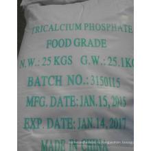 Продовольственная сортировка Tricalcium Phosphate производитель