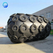 Proveedor de China Marine flotante Ykohama tipo neumático Fender con cadena y neumático neto