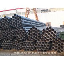 Schwarz geschweißte Stahlrohre
