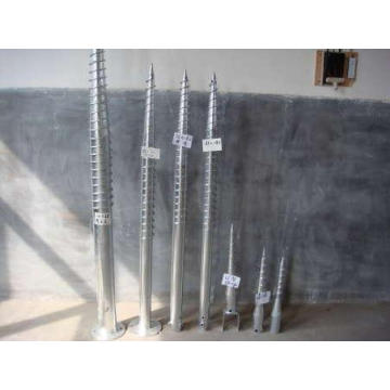 Double Blade Anchor Bolt and Anchor Block Solar Stent