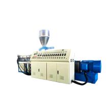 Extrusora de perfil de PVC de duplo parafuso cônico co-rotativo SJSZ65