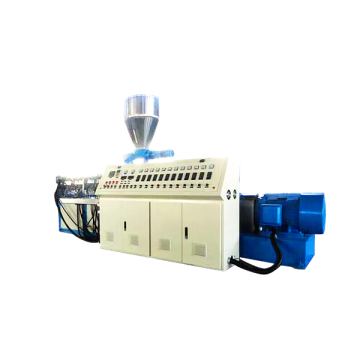 Conical Co-Rotating Twin-Screw PVC Profile Extruder SJSZ65