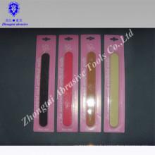 lime à ongles en bois ensemble pour la promotion des ventes