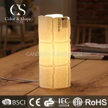Los modelos de moda controlan la lámpara de mesa de cerámica del modelo en venta