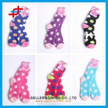 2015 махровые зимние дамские микрофибры уютные толстые носки на заказ логотип