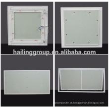 Painel de acesso de alumínio do teto da gipsita / impermeável