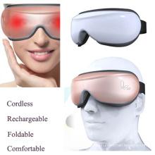 Masajeador de ojos portátil inalámbrico con terapia de la música