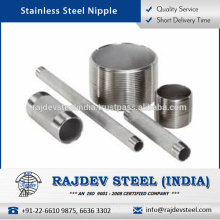 Excellent Functionality, Standard Size, Customized Design Stainless Steel Nipples
