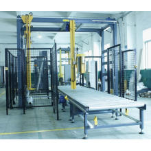 Rotary Arms Pre-Stretch Pallet Wrapping Machine