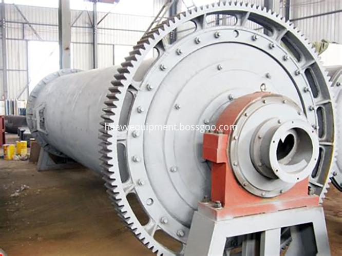 Quartz ball mill