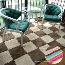 Haute qualité non-toxique eva mousse puzzles mat EVA respectueux de l'environnement en peluche bébé puzzle tapis de bébé
