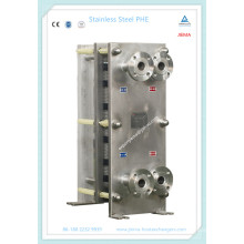 Sanitär-Kompaktplatten-Wärmetauscher für Lebensmittel, Getränke & Getreide (M10, M15)