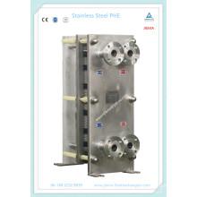 Échangeur de chaleur à plaque compacte sanitaire pour aliments, boissons et céréales (M10, M15)