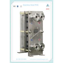 Sanitary Compact Plate Heat Exchanger para Alimentos, Bebidas e Cereais (M10, M15)