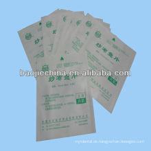 Medizinische Gaze Tupfer Sterilisation Papiertüte