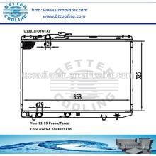 Panneau de radiateur pour Mitsubishi Montero 88-91 MT OEM: MB538805 MB538806