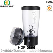 Taza popular del mezclador del polvo 450ml, botella plástica de la agitación de la proteína del vórtice 2017 (HDP-0896)