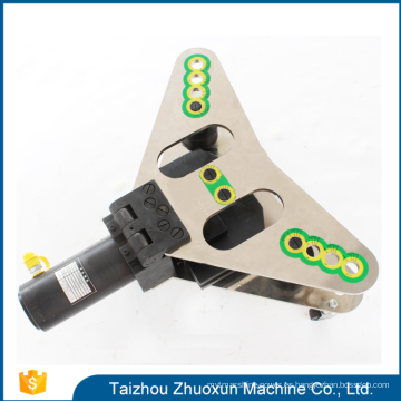 2017 herramientas hidráulicas de cobre de aluminio 3 en 1 cobre máquina de barras de alta eficiencia cnc turret sacador