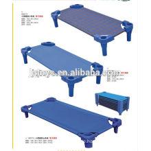 Heißes verkaufendes Kinderplastikbett mit Plaid