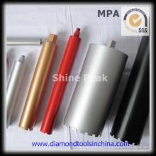 Nassen Kern Diamantbohrkronen für Beton Asphalt-Stock
