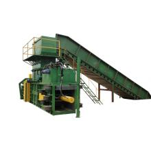 automatic hydraulic plastic bottle baling press machine