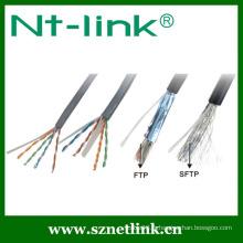 Câble réseau 24 AWG Cat5e FTP Stranded