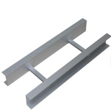 Bandeja de cables de escalera de acero galvanizado por inmersión en caliente