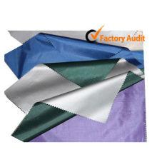 Tissu imperméable à parapluie teinté avec revêtement PA / PU (U-1)