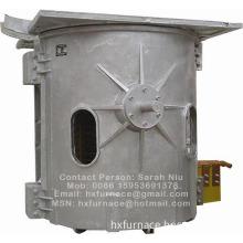 Induction furnace for aluminum melting