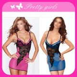 Ladies Sexy Lace Camisole & Lingerie with G-String
