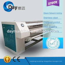 2014 steam automatic flatwork ironer, sheet roll cylinder flatwork ironer machine