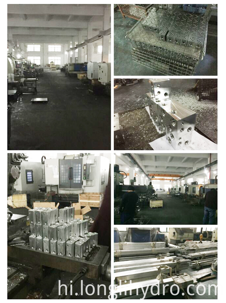Customize Hydraulic Aluminum Manifold Block Design