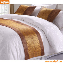 100% Polyester Customized Hotel Bed Scarf (DPF2668)
