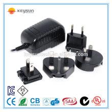 Prise électrique prise multiple 12v 1amp adaptateur interchangeable
