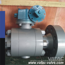 BS5351 Dbb Cl900 Trunnion Mounted CF3m/CF3/304L/316L Devlon Seat Regular Port Rtjxnpt Ball Valve