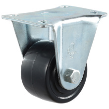 Doble rodamiento de bolas de baja gravedad de nylon negro Caster (KLX1-L1)