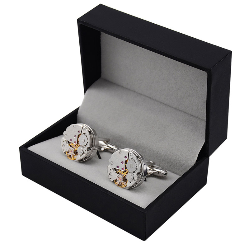 Working Watch Movement Cufflinks