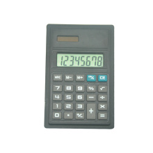 8 Digit Solar Power Super Thin Panel Calculator