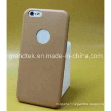 En gros Ultrathin PU étui en cuir pour iPhone 6 cas